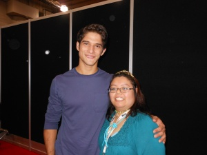 me and Tyler Posey