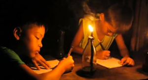 support these kids so they can finished school ! with us giving them a solar light bulb !