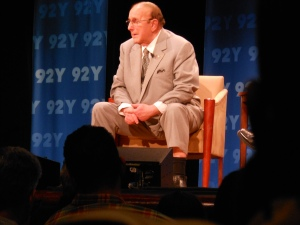 Clive Davis at the talk for his book Soundtrack of my life event.