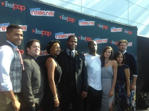 The cast of Underground