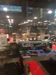 View from the press room at NYCC 2015 !